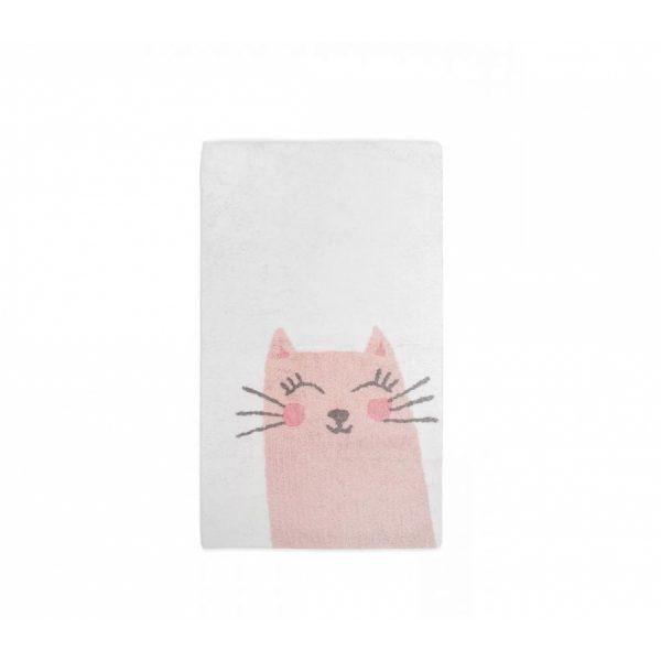 купить Коврик в детскую комнату Irya Kitty pembe 80*150 Розовый фото