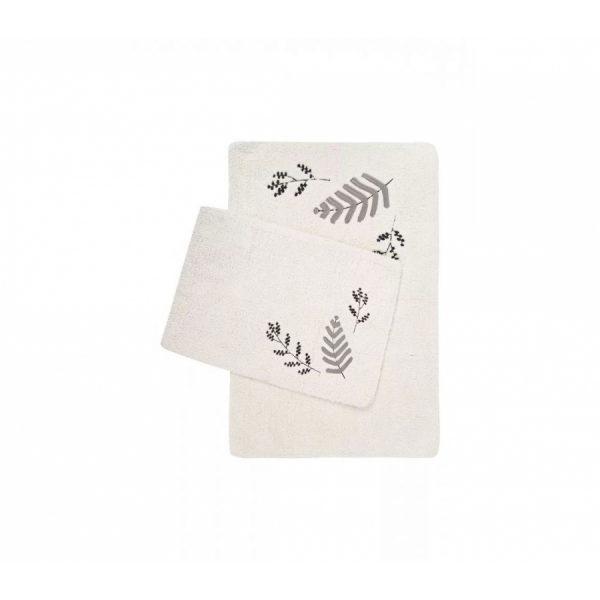 купить Набор ковриков Irya Finola gri 60*90 40*60 Кремовый фото