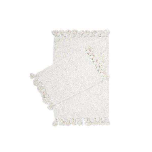 купить Набор ковриков Irya Gala ekru 55*85 35*55 Белый фото