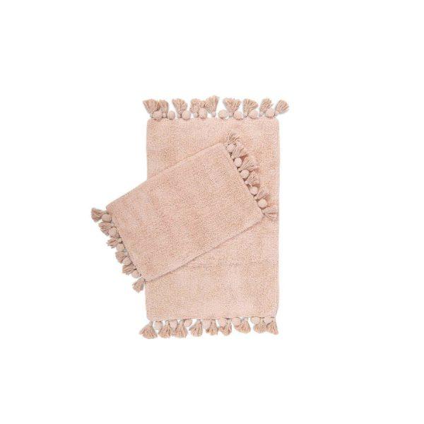 купить Набор ковриков Irya Gala gul kurusu 55*85|35*55 Розовый фото