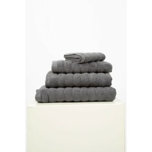купить Набор полотенец Irya Frizz microline antrasit 30*50 3 шт Серый фото