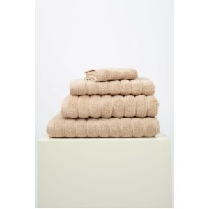 купить Набор полотенец Irya Frizz microline kahve 30*50 3 шт Бежевый фото