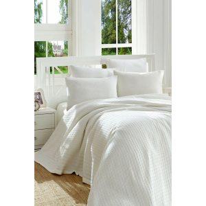 купить Покрывало пике Eponj Home Burumcuk beyaz Белый фото