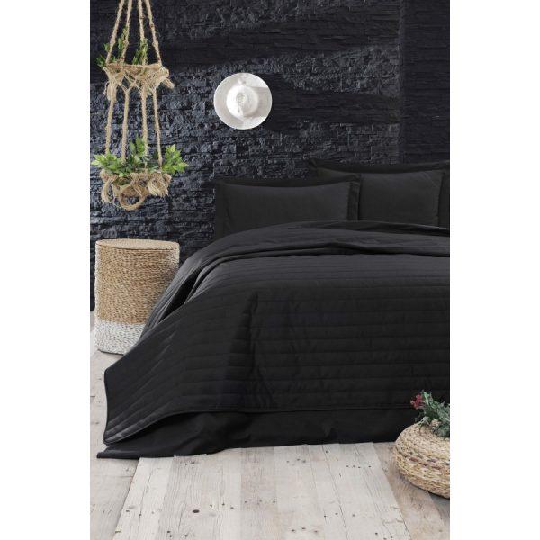 купить Покрывало стеганное Eponj Home Monart siyah Черный фото