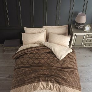 купить Постельное белье Eponj Home Creative Kahve Коричневый фото