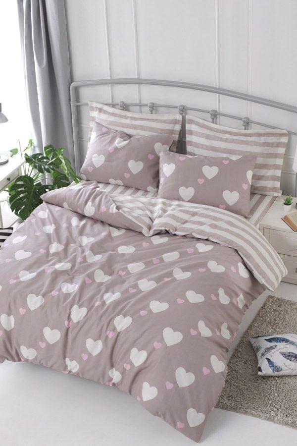купить Постельное белье Eponj Home Herz Gulkurusu Розовый фото