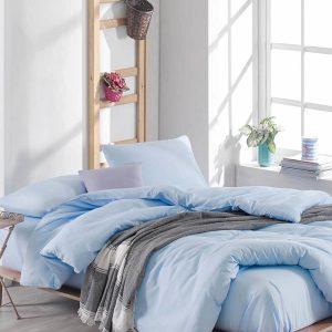 купить Постельное белье Eponj Home Paint D.Boya A.Mavi Голубой фото