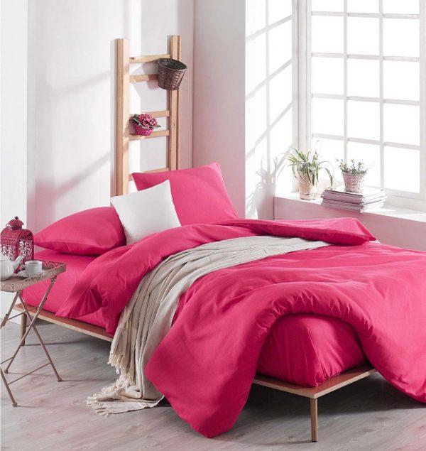 купить Постельное белье Eponj Home Paint D.Boya Fusya Розовый фото