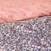 купить Постельное белье Karaca Home Flori somon Розовый Серый фото 114601