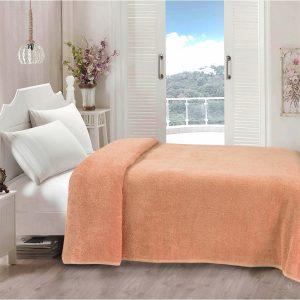 купить Простынь Iris Home махровая Peach Розовый фото
