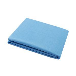 купить Простынь Iris Home premium ранфорс Бирюзовый Голубой фото