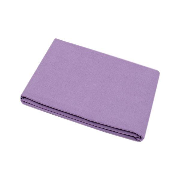 купить Простынь Iris Home premium ранфорс Лиловый Фиолетовый фото