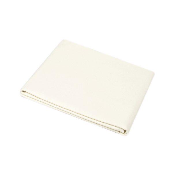 купить Простынь Iris Home premium ранфорс Молочный Кремовый фото