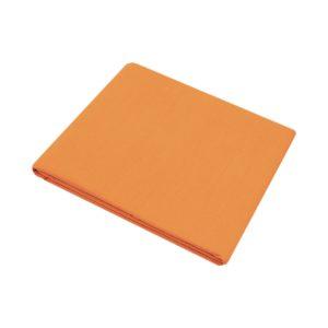 купить Простынь Iris Home premium ранфорс Оранжевый Оранжевый фото