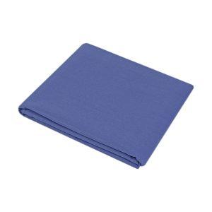 купить Простынь Iris Home premium ранфорс Синий 180*215 Синий фото