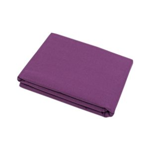 купить Простынь Iris Home premium ранфорс Сливовый 220*240 Сиреневый фото