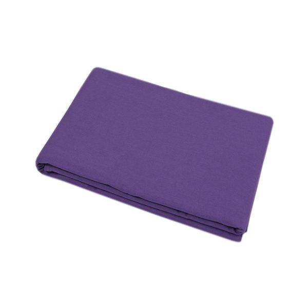 купить Простынь Iris Home premium ранфорс Темно-фиолетовый 220*240 Фиолетовый фото
