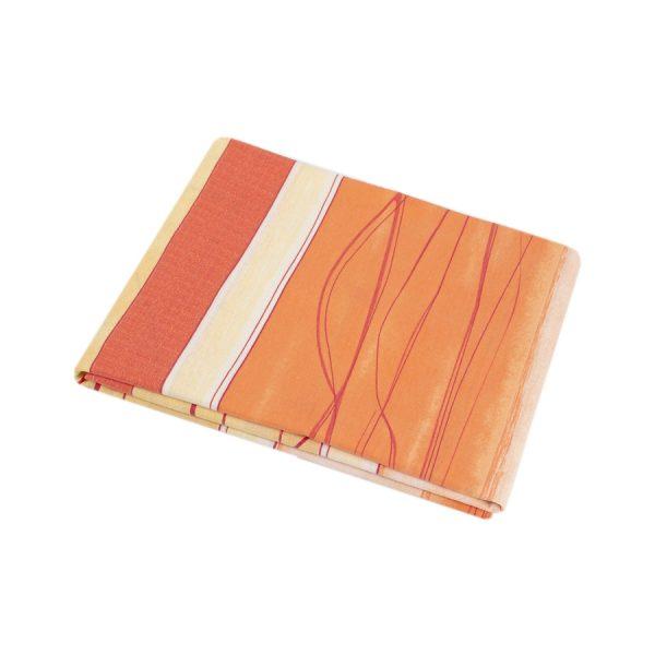 купить Простынь Iris Home ранфорс Mia оранжевый 180*215 Оранжевый фото