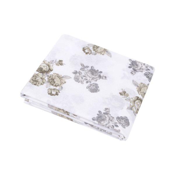 купить Простынь Iris Home ранфорс Patrice серый 220*240 Серый фото