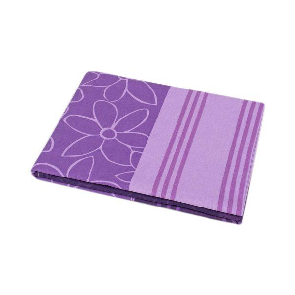 купить Простынь Iris Home ранфорс Stella лиловый 180*215 Лиловый фото