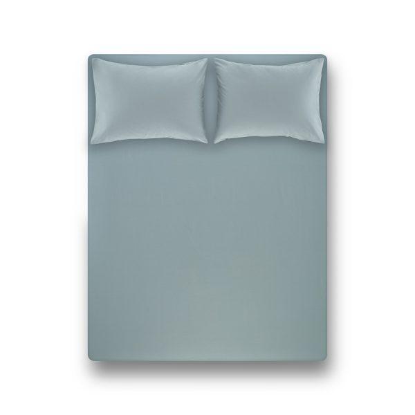 купить Простынь на резинке с наволочкой Penelope Laura green Ментоловый фото
